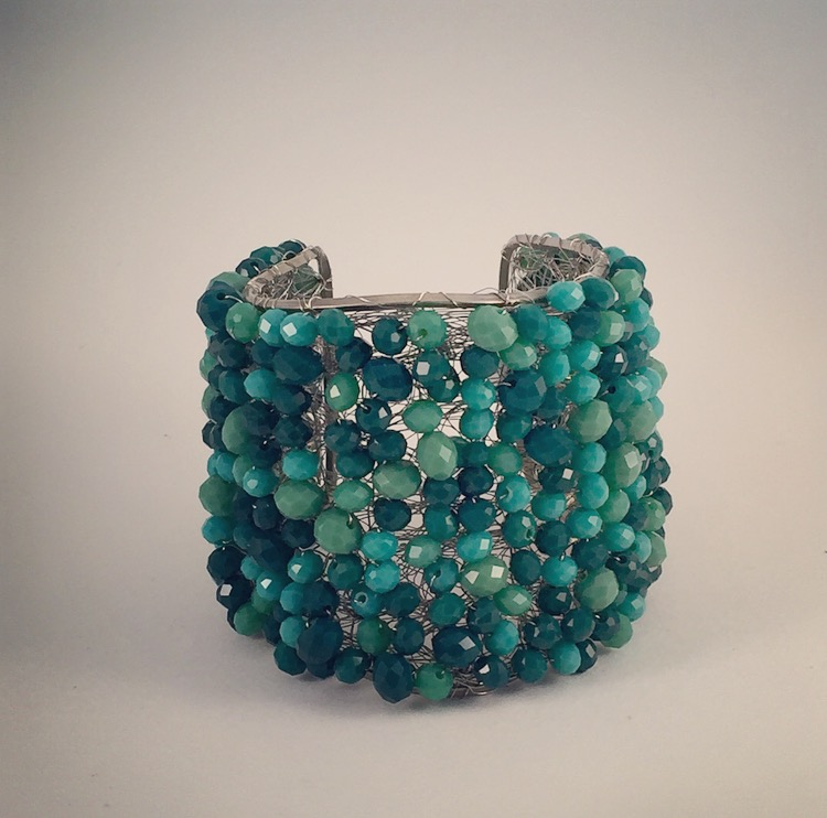 Bracciale con Perline in Turchese