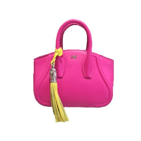05400CHS001FUY - Small Bag Daphne Remix Royal Fuxia/Yellow